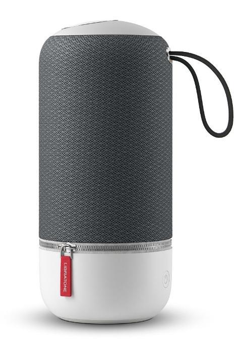 Enceinte portable Libratone Zipp Mini (Bluetooth, Wi-Fi, EQ, Multiroom, Spotify Connect) - Gris
