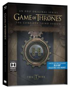 Coffret Blu-ray Game of Thrones Saisons 3 ou 4 - Edition Steelbook