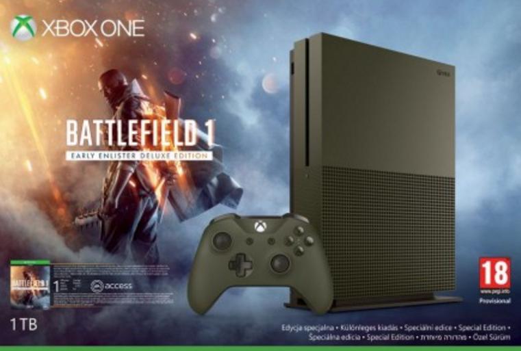 Jeu Forza Horizon 3 + 2ème manette offerts pour l'achat d'une Xbox One - Ex: Console Xbox One S 1To Edition Battlefield 1 + Battlefield 1 + Forza Horizon 3 + 2ème manette