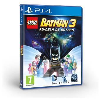 Jeu Lego Batman 3: Au delà de Gotham sur PS4