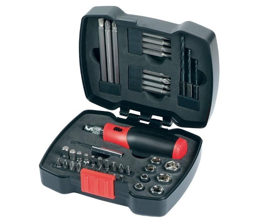 Kit cliquet manuel Black + Decker A7175 avec embouts 43 pièces