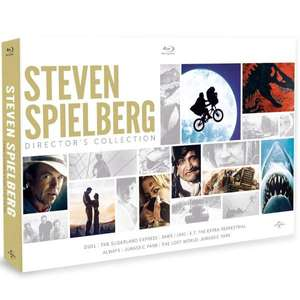 Coffret Blu-ray Steven Spielberg Director's Collection