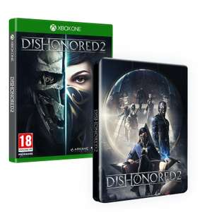 Dishonored 2 + steelbox sur Xbox One