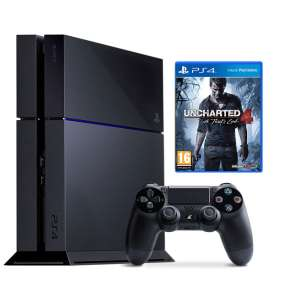 Console PS4 500Go + Jeu Uncharted 4