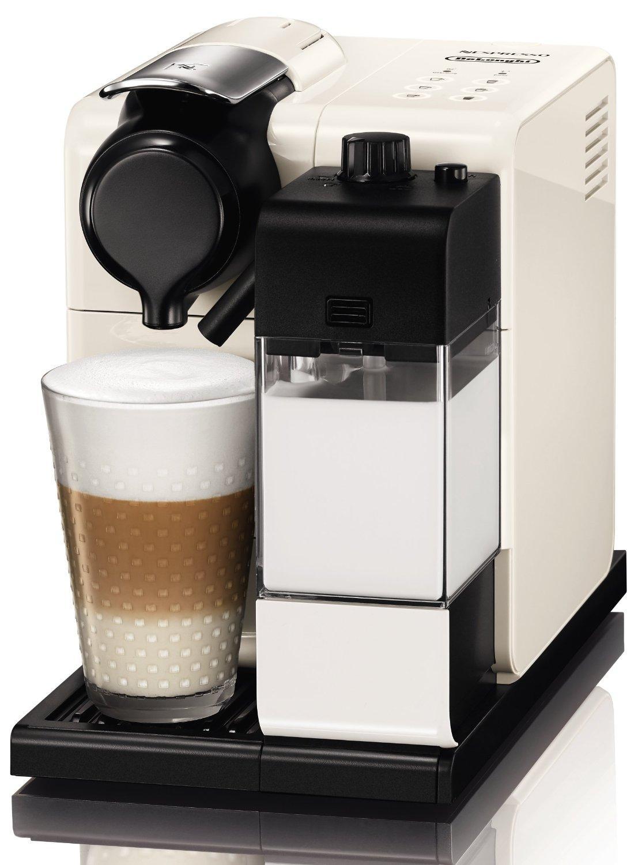 Machine à café Nespresso Delonghi Latissima EN550 Touch Blanc ou Rouge
