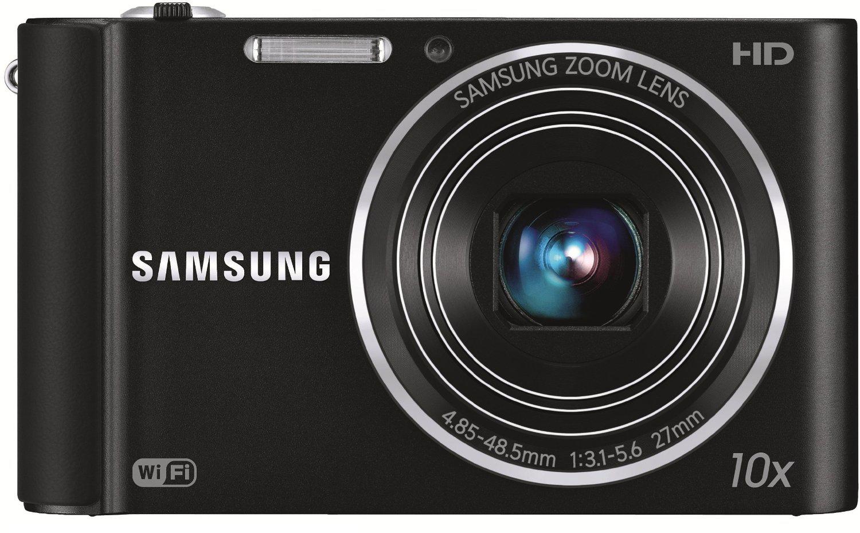 "APN Compact Samsung ST200F - Noir (16.1 Mpx, 10x Zoom optique, 3.0"" LCD, Wi-Fi) - Reconditionné"