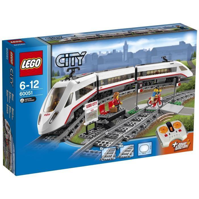 -15% sur le jouet de votre choix - Ex: LEGO 60051 Le train de passagers à grande vitesse