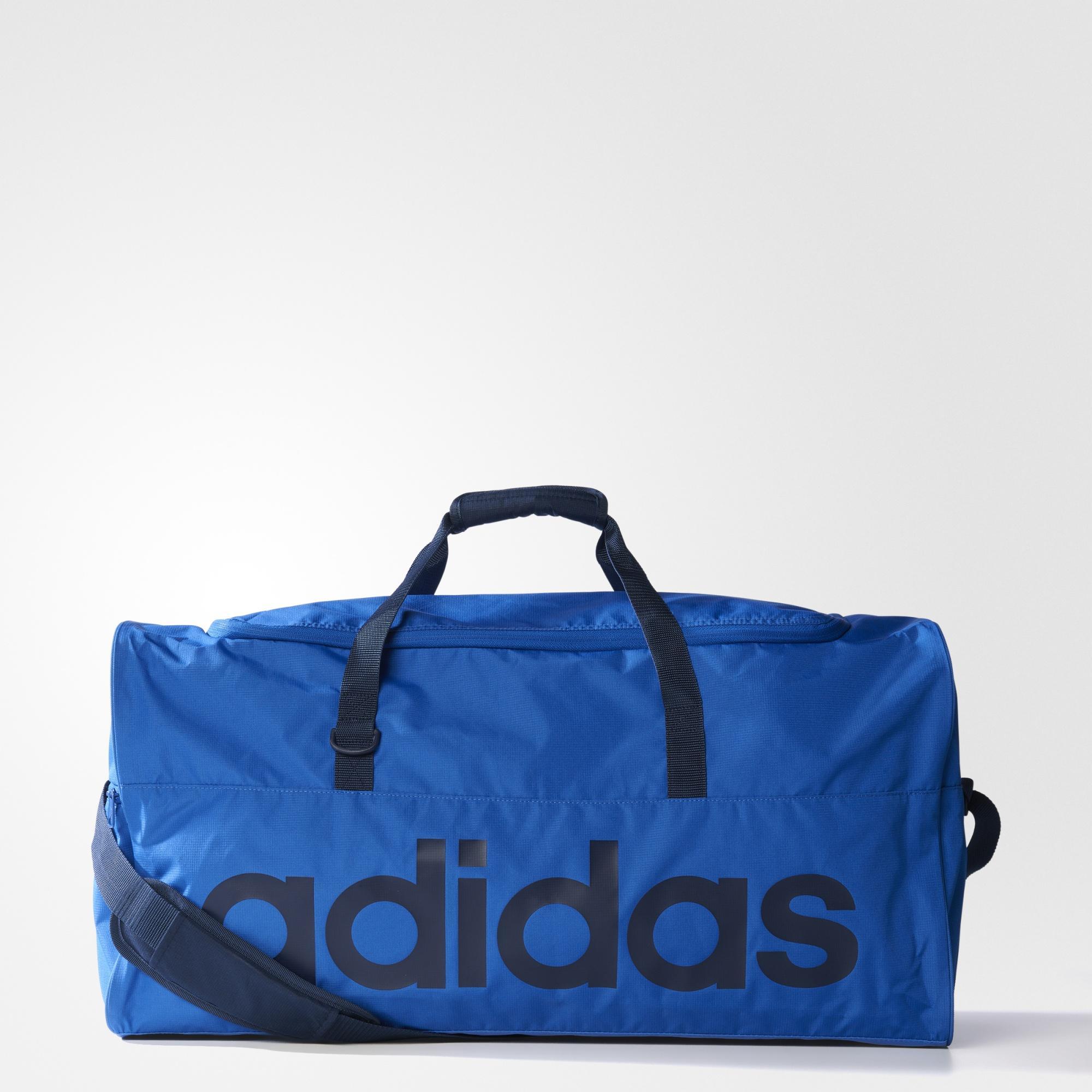 Sélection d'articles en promotion - Ex: Sac de sport Adidas Grand Format Linear Bleu (Taille L)