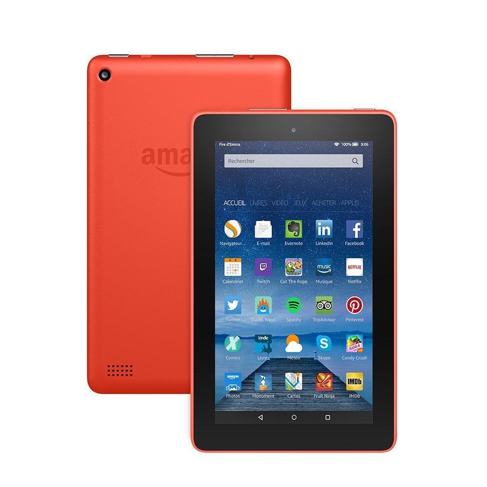 """Tablette 7"""" Amazon Fire (Coloris au choix) - 8Go"""