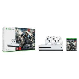 Pack Console Xbox One S - 1To + Gears of War 4 + 2ème Manette