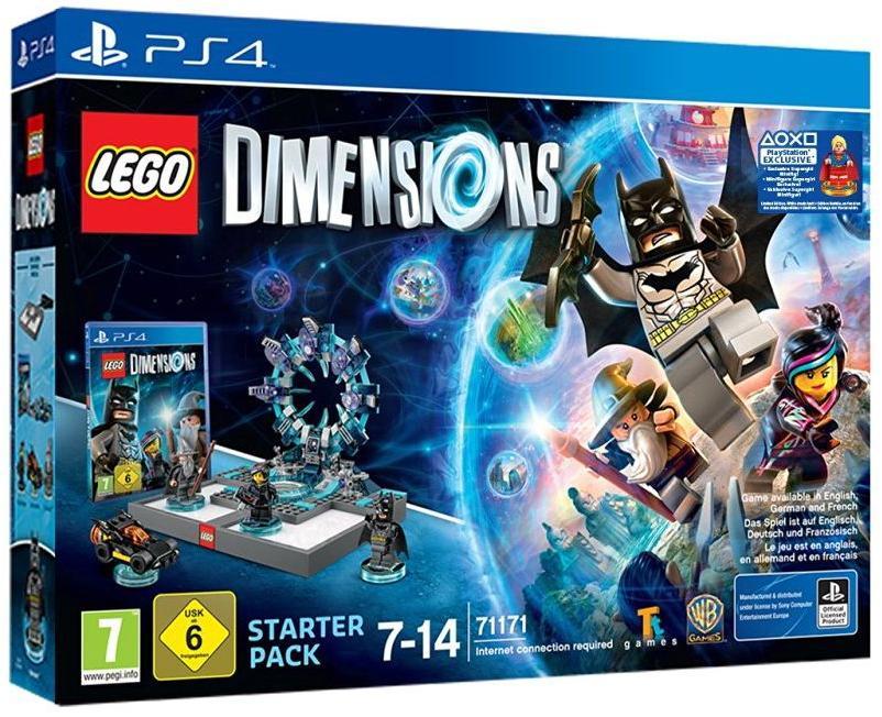 Pack de démarrage Lego Dimensions + Figurine Supergirl sur PS4/ Sans supergirl sur PS3, Wii U, Xbox 360, Xbox One
