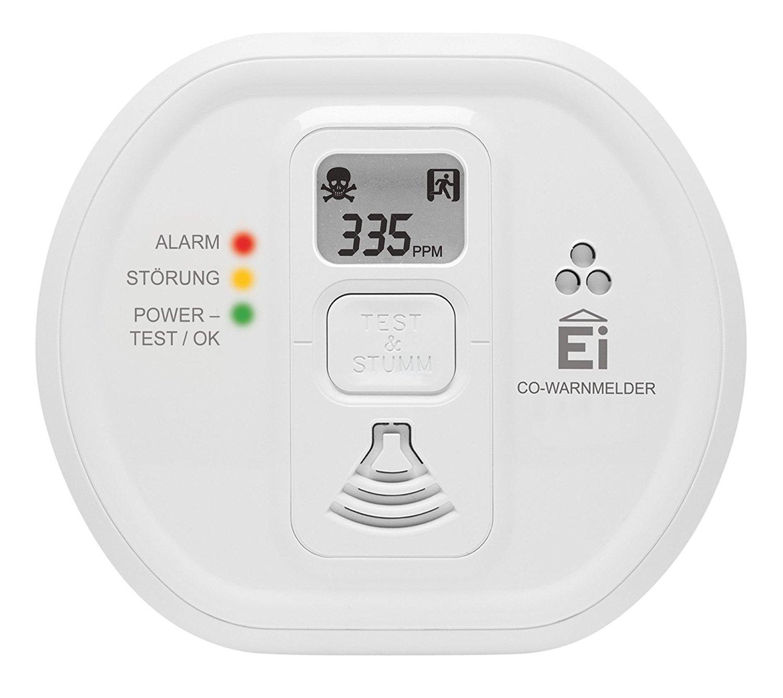Détecteur de monoxyde de carbone Ei Electronics EI20-8DW