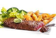 Une pièce de viande offerte pour une viande achetée (uniquement le soir)