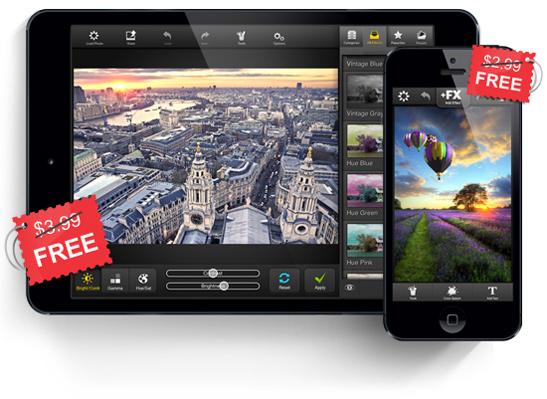 FX Photo Studio pour iPhone/iPad (MacPhun LLC) gratuit