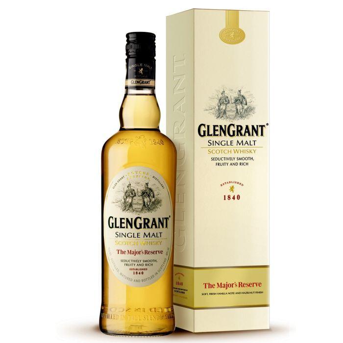Bouteille de whisky single malt GlenGrant The Major's Reserve - 70 cl (via 9.54€ sur la carte Waaoh)