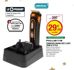 Tondeuse multi-usages Rowenta TN9100F0 Trim & Style 5 EN 1