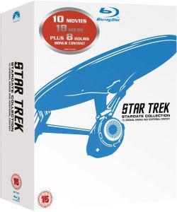 Coffret Blu-ray :  Star Trek 1 à 10 Rémasterisé
