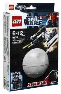 Lego star wars Tie Interceptor et Death Star