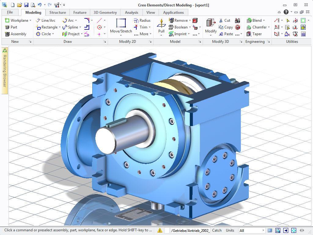 Licence pour le logiciel de CAO 3D Creo Elements / Direct Modeling gratuite à vie