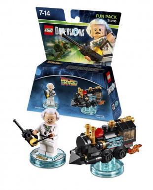 Sélection de produits Lego Dimensions en promotion - Ex : Pack Retour vers le futur Doc Brown