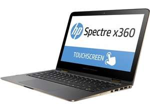 "PC Portable 2-en-1 hybride 13.3"" HP Spectre X360-4132 nf - IPS Full HD, i5 6200, RAM 4Go, SSD 128Go (Via ODR 100€)"