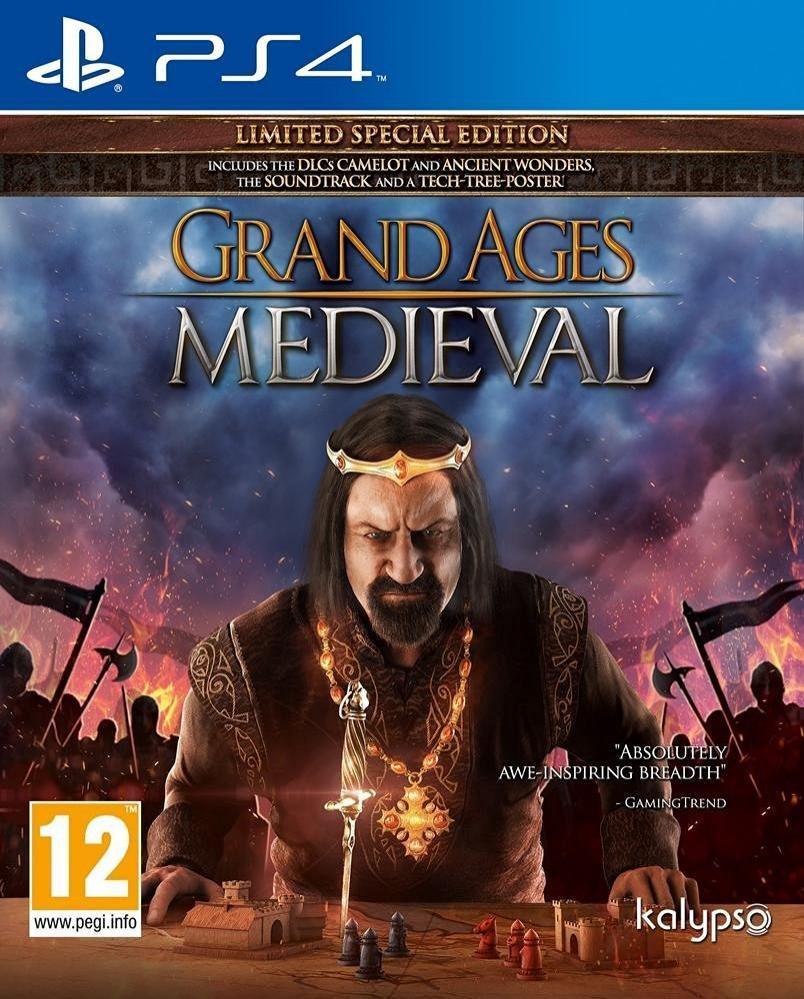 Grand Ages Medieval - Edition Spéciale Limitée sur PS4