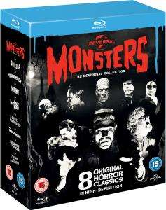 Coffret Blu-ray Universal Classic Monster : The Essential Collection