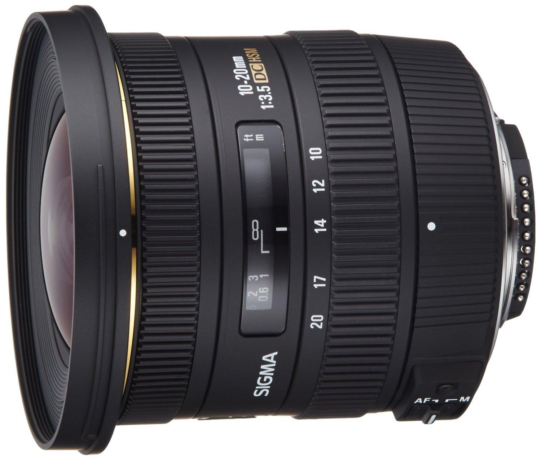 Sélection d'objectifs Sigma en promo - Ex : Objectif Sigma 10-20mm f3.5 EX DC HSM Lens monture Nikon