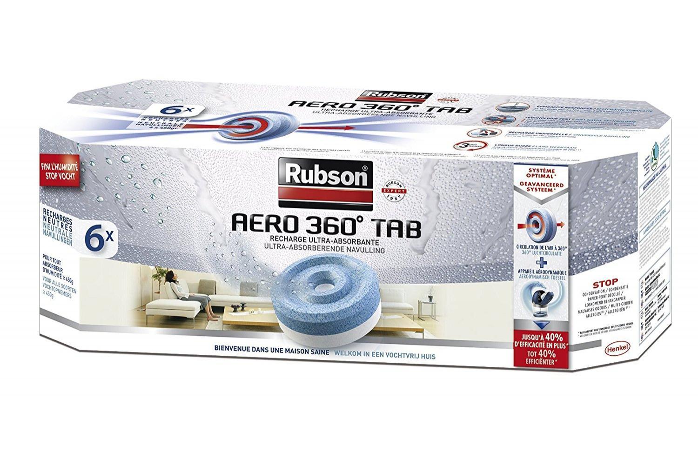 Appareil aérodynamique Rubson -Aero 360° + 8 recharges