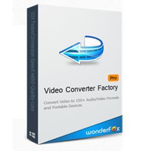 Logiciel Wonderfox HD Video Converter Factory Pro (PC)