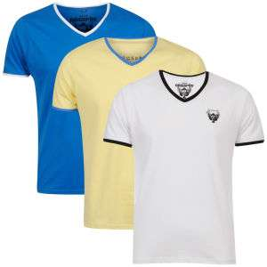 Lot de 3 T-shirts Ringspun