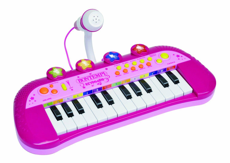 Clavier Electronique 24 Touches + Micro Rose Bontempi - MK 2971