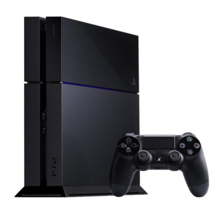Console PS4 Sony 500 Go Noire -  Reconditionnée