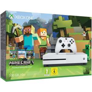 Pack Console Microsoft Xbox One S 500 Go + Minecraft Favorites