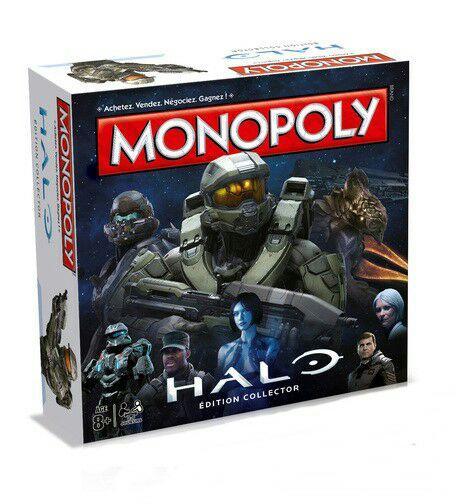 25% de réduction sur une sélection de Jeux de Société - Ex : Monopoly Édition Halo