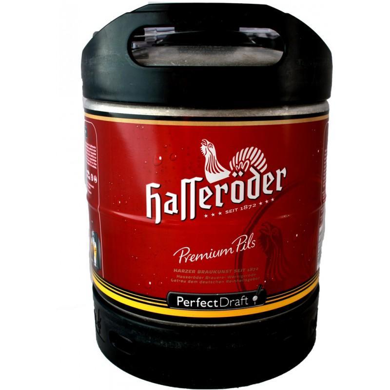 Lot de 2 fûts de bière PerfectDraft Hasseröder - 6 L