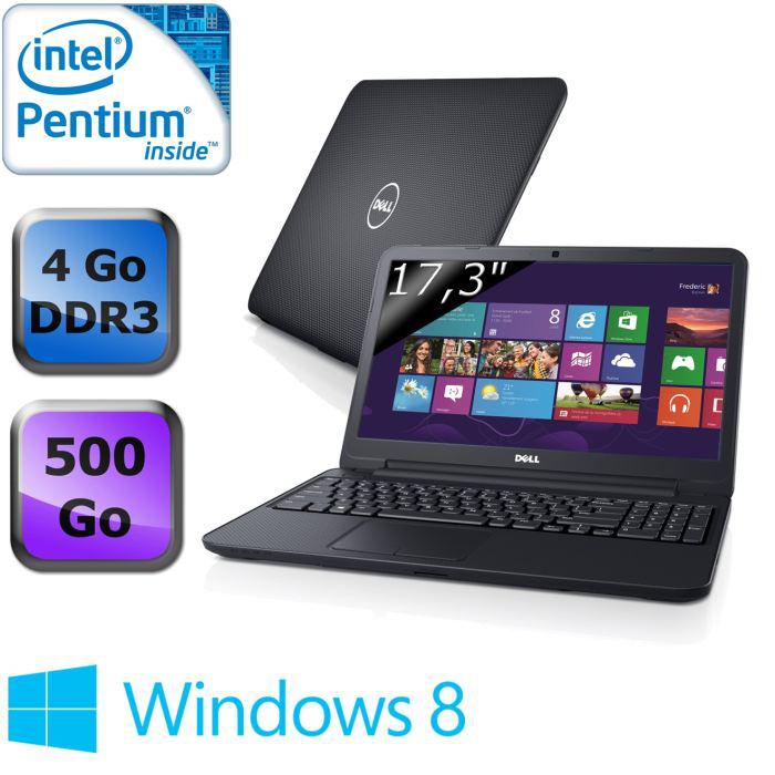 """PC portable Dell Inspiron 17-3721 (17"""", i5, 4Go, 1To)"""