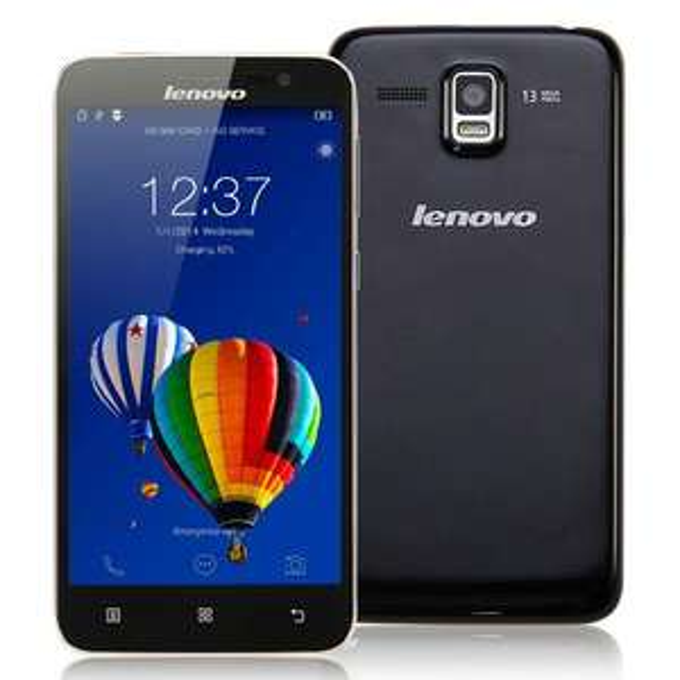 "Smartphone 5"" Lenovo A8 A806 - 2 Go de RAM, 16 Go, noir"