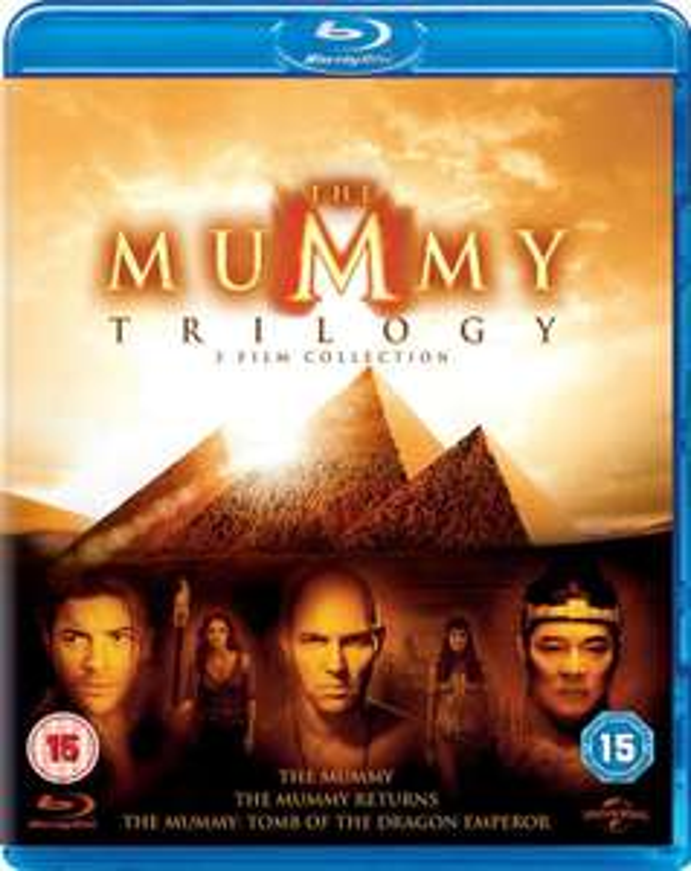 Sélection de coffrets Blu-ray en promotion - Ex : Coffret Blu-ray La Momie - La Trilogie