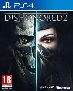 Jeu Dishonored 2 sur PS4/Xbox One/PC + Artbook