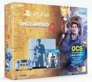 Console Sony PS4 1To + Uncharted 4 Collector
