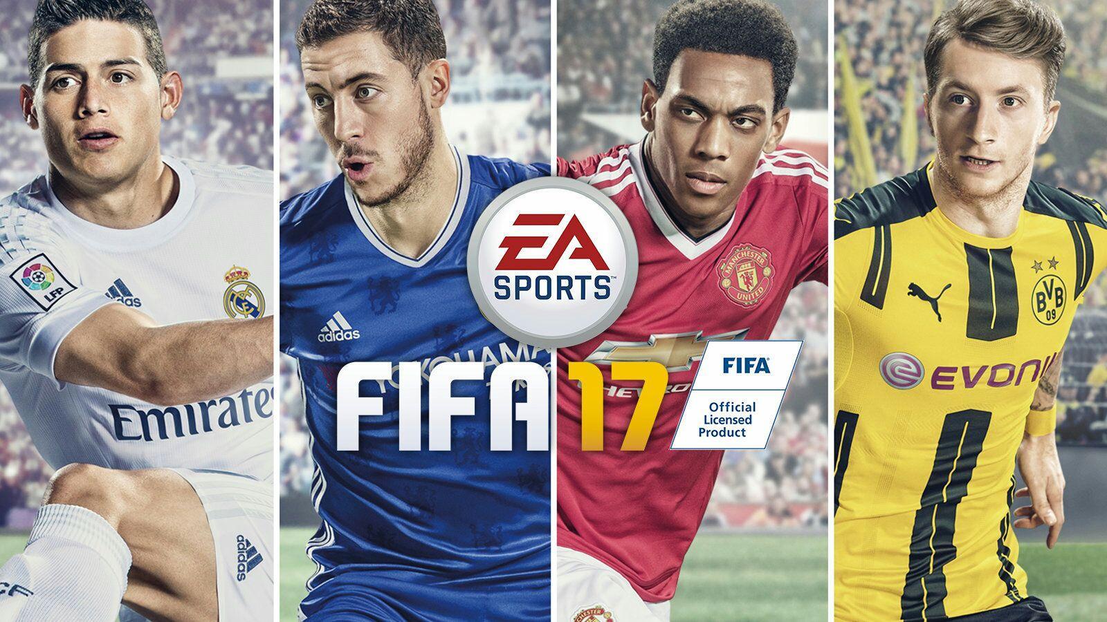 Fifa 17 jouable gratuitement du 24 au 27 novembre sur PS4 et Xbox One