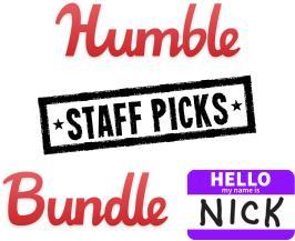 Humble Staff Picks Bundle Nick - 7 Jeux sur PC (Dématérialisés - Steam)