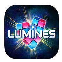 Jeu Lumines puzzle music sur iOS