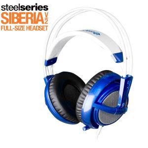 Casque Steelseries Siberia V2 Bleu