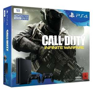 Pack Console PS4 slim  - 1To + Call of Duty Infinite Warfare + 2ème manette