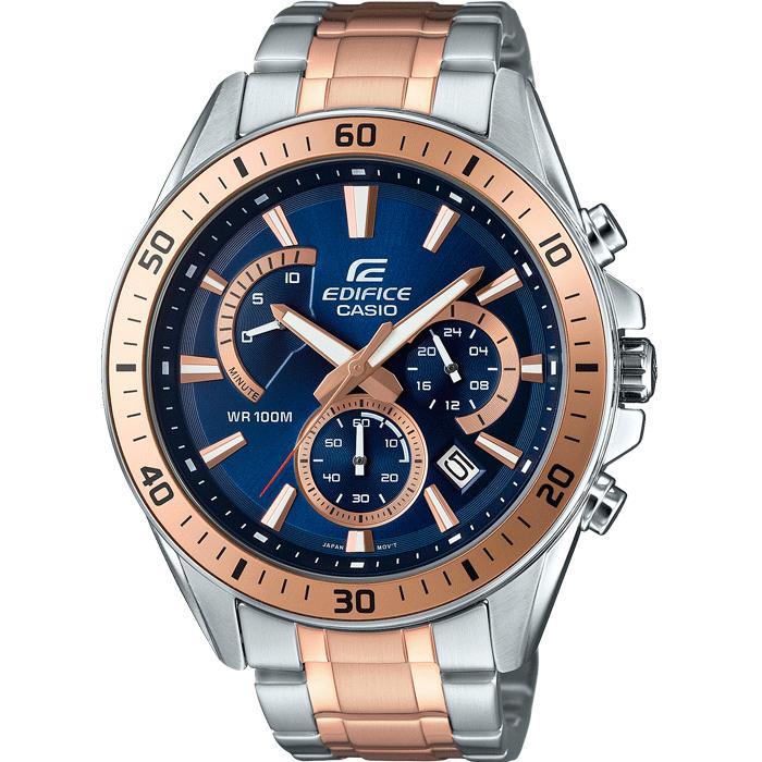 Sélection de Montres Casio en Promotion - Ex: Chronographe Casio Edifice-EFR-552SG-2AVUEF pour Hommes