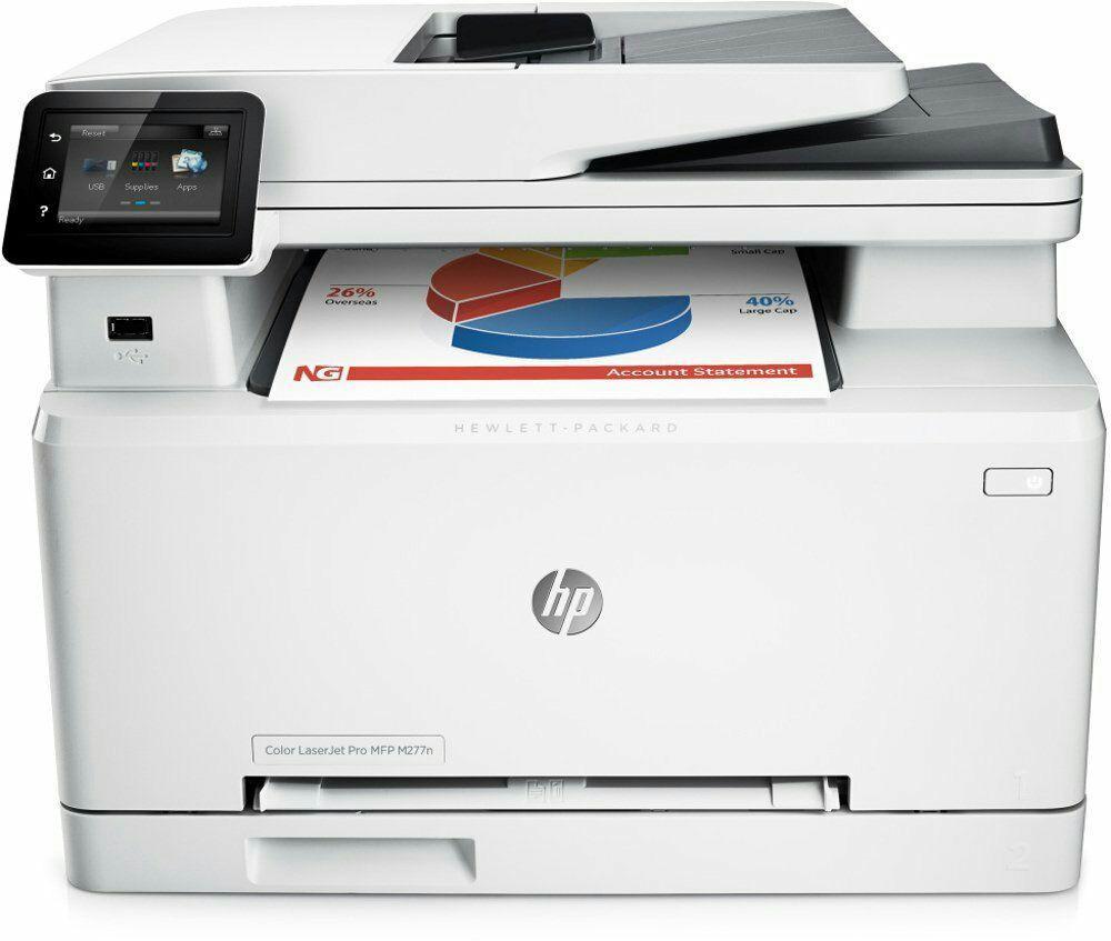 Imprimante laser couleur multifonction HP Laserjet Pro M277n