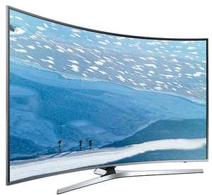 "TV 65"" Samsung UE65KU6680 - LED, Incurvée, 4K UHD, HDR, Smart TV (via ODR de 200€)"