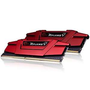 Barrette mémoire DDR4 G.Skill Ripjaws V Red DDR4 2 x 8 Go 2133 MHz CAS 15